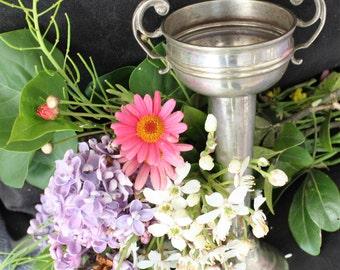 Vintage EPNS Silver Plated Vase / Trophy by Dunklings of Melbourne
