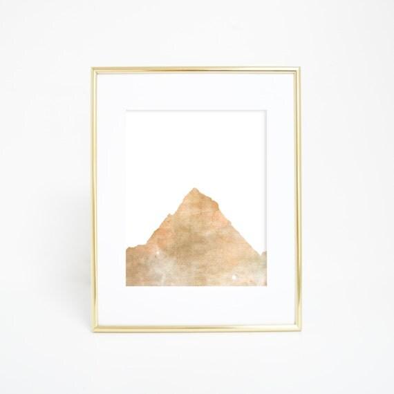 Mountain Decor, Mountain Print, Mountain Wall Art, Digital Prints, Instant Download, Wall Print, Office Decor, Nursery Artwork, Woodland Art