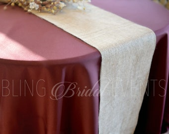 Burlap Table Runners, Jute Table Runners, Country Wedding, SALE Burlap, Burlap Wedding Decor