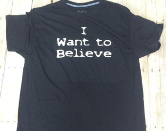 """X-files """"I want to believe"""""""