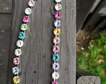 Spring Fling Swarovski crystal necklace