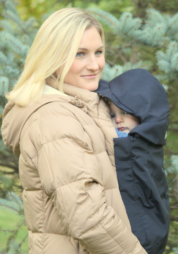 Maternity Coat Extender Babywearing Cover With Easy Hood