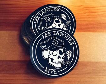 The Captain Vinyl Sticker // Bumper sticker