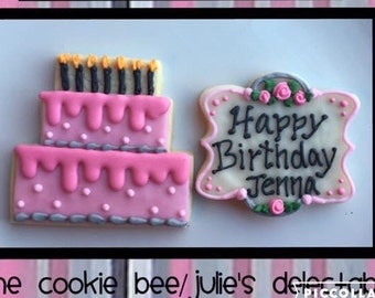Birthday Sugar Cookie Gift Box