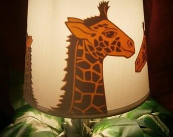 Giraffe Safari Hat Lamp