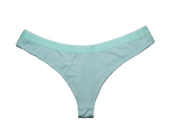 Easy Fit Thong in Mint