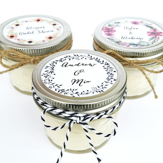 Wedding Favor Tags For Candles : Favors Rustic Favors Wedding Candle Favor Custom Wedding Favor ...