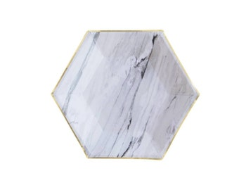 Goddess Marble plates small