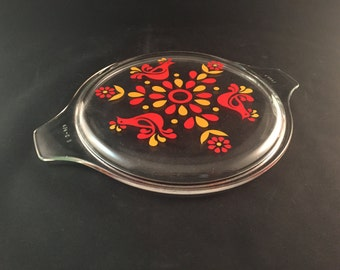 Pyrex Friendship Replacement Lid - Glass Lid