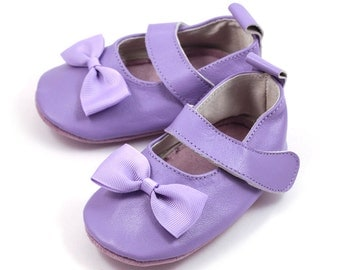 Lavender Mary Jane shoes for baby girl, toddler girl, baby shoes, dressy shoes, shower gift, birthday shoes, wedding shoes for baby girl.