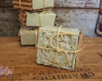 Handmade Tea Tree Soap, all natural, vegan, palm free, handcrafted