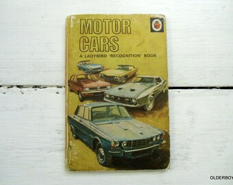 1972 Motor Cars  a Ladybird Recognition Book series 584 Motor Cars by David Carey Ladybird's Car Book G04/174