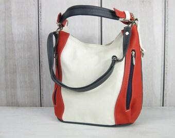 Sailor LEATHER HOBO BAG - Everyday Leather Shoulder Bag