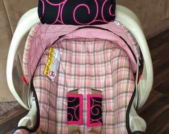 Car seat handle cushion-add name for 3.00 more