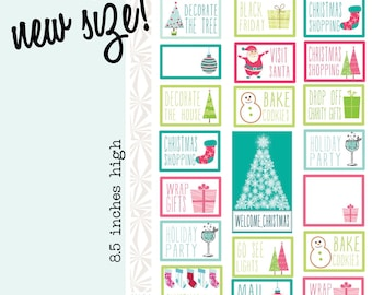 Holly Jolly To Do List | Christmas Planner Stickers (#062)