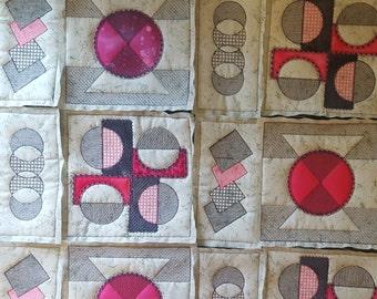Modern quilting designs No.2 / Machine embroidery designs / Quilt block designs/ Applique / Embroidery