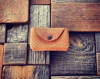 Beaver Tail Coin Pouch