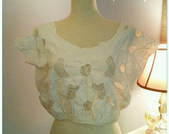 Summertime Cotton Crop Top