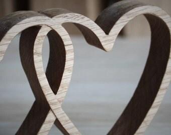 oak hearts gift for wife