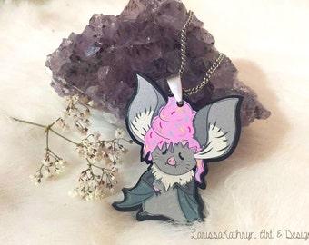 Lewis the Bat - Necklace