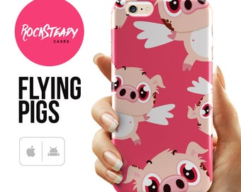 Pig iPhone 7 case, iphone 6s case,  iPhone 5C, 5s, SE, Pink cute iPhone 6 Plus case, iPhone 5s Case, samsung s7, s6, s5 case, iPhone 6 cover