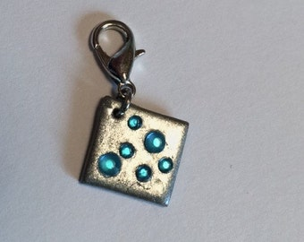 Minecraft diamond charm