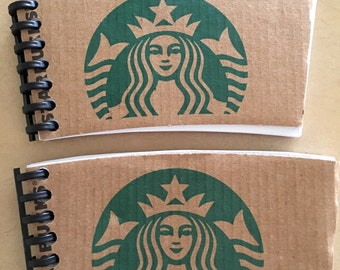 Starbucks notepads - 2 for 5.00