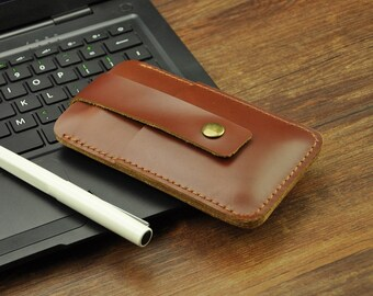 Leather IPhone 5 Case / iphone 5 wallet / iphone 6 case, 6 plus case, iPhone 5 wallet / iPhone 5s Case Wallet / iphone Leather sleeve