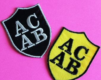 ACAB Iron On Patch