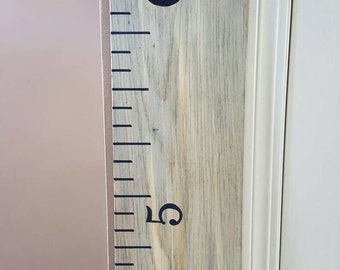 SALE~ Wooden growth chart ruler|Ready to ship|ONE of a KIND|nursery|decor|gift|height