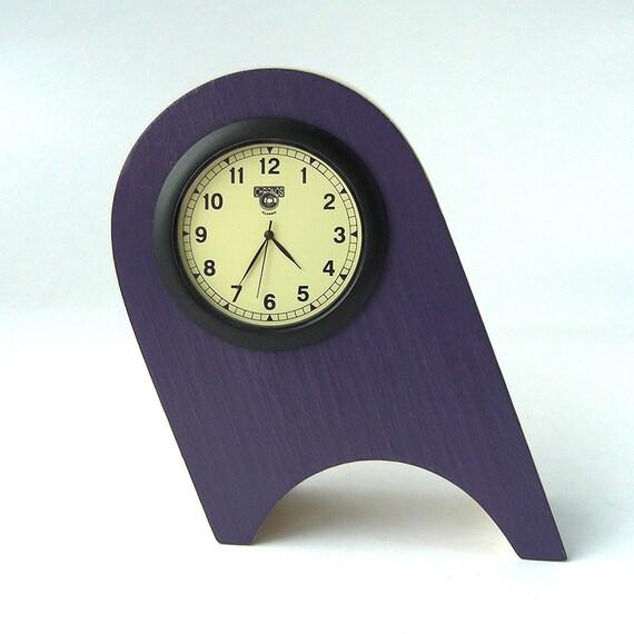 Mantle Clock Bedside Clock Quartz Clock Living By Humblewooduk
