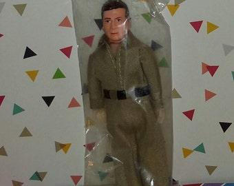Vintage 1960s Sealed Doll, Gas Station Attendant Figure