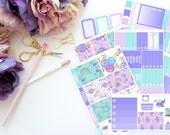 Dream Vertical Weekly ECLP Kit -- Matte Planner Stickers
