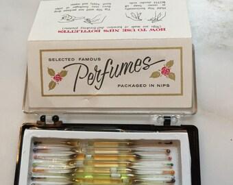 Vintage perfume nips
