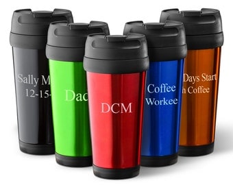 Personalized Travel Mug - Coffee Mug - Travel Tumbler