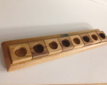Hardwood Egg Rack - Holds 8 eggs