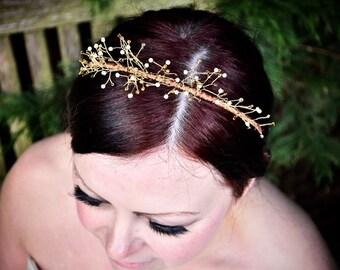 Woodland Crown Bridal Tiara