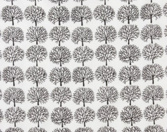 The Ghastlies - Ghastlie Forest Fabric - Natural - sold by the 1/2 yard