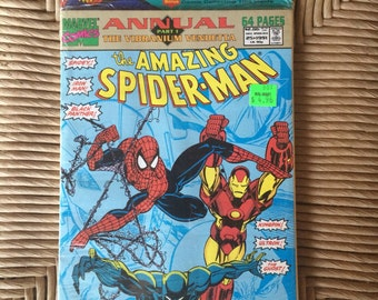 1991 Spider-man Annuals (Partially opened )