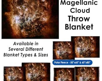 Magellanic Cloud - Throw Blanket