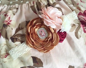 M2M Persnickety Pretty in Pink Headband
