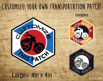 Motorcycle Patches - Custom Bike Patches