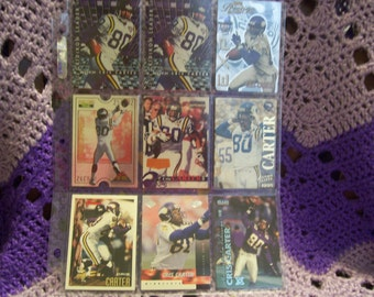 Cris Carter Football Cards