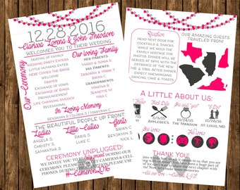 Wedding infographic | Etsy