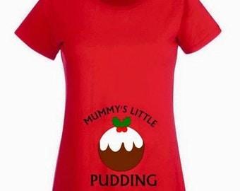 Mummy's Little Pudding Tee
