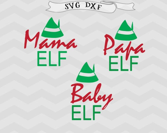Baby Christmas Svg Elf Svg Mom Svg Christmas Cut File Mama