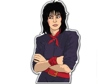 Joan Jett Sticker - Queen Of Noise