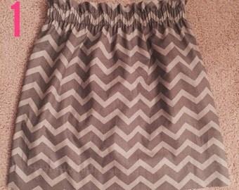 2XL chevron skirt