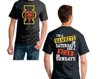 Hawkeye I on Saturday Bear on Sunday
