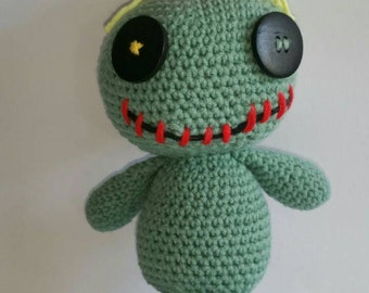 Amigurumi Lilo Y Stitch : Lilo stitch scrump Etsy